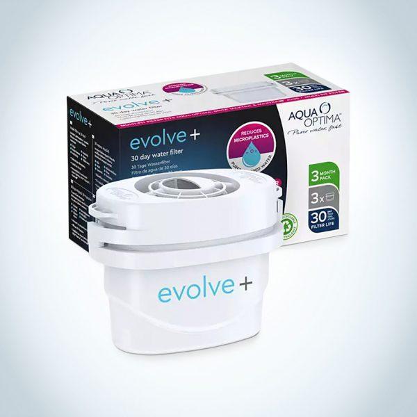3 filtre Aqua Optima Evolve+ pentru cana filtranta
