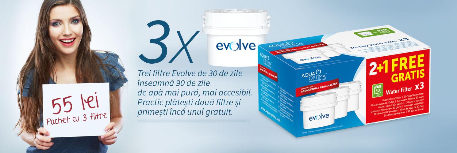 Aqua Optima filtre Evolve 2+1